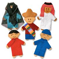 World-Finger-Puppets